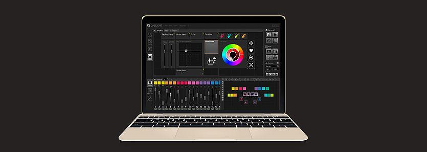 Daslight 4 舞台灯光控制软件