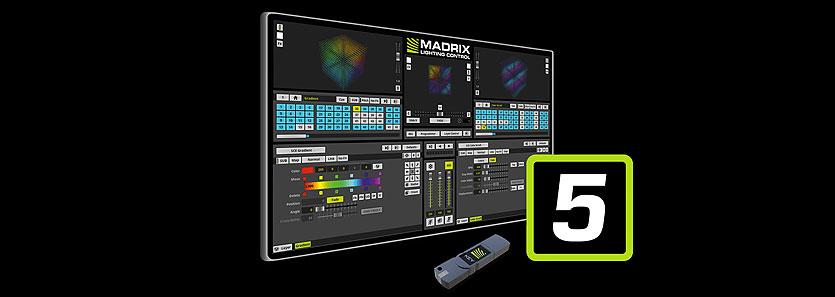 Madrix5麦爵士像素LED点控软件